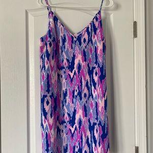 Lilly Pulitzer Dusk silk dress
